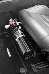 Corvette H3R Performance Fire Extinguisher Seat Mount, Corvette and others
