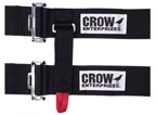 6-Point Cam Lock Racing Harness and Belts, Crow Enterprizes