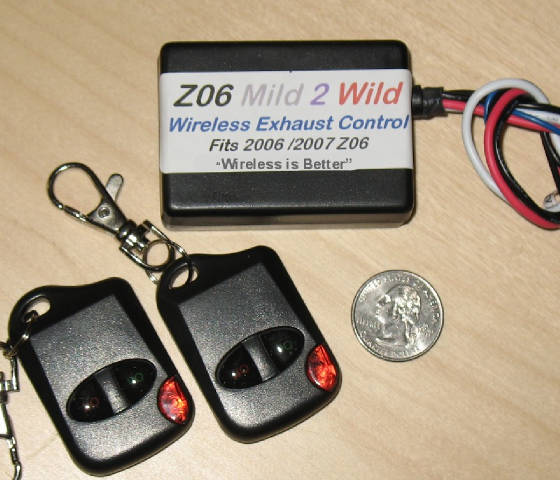"C6, Z06, Grand Sport, ZR1 Corvette & LS3 NPP ""Mild To Wild"" Exhaust Control, The Original!"