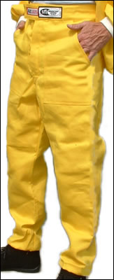 "RJS ""The Racer Suit"" Pants, SFI 3-2A/5 Approved for 9.99+"